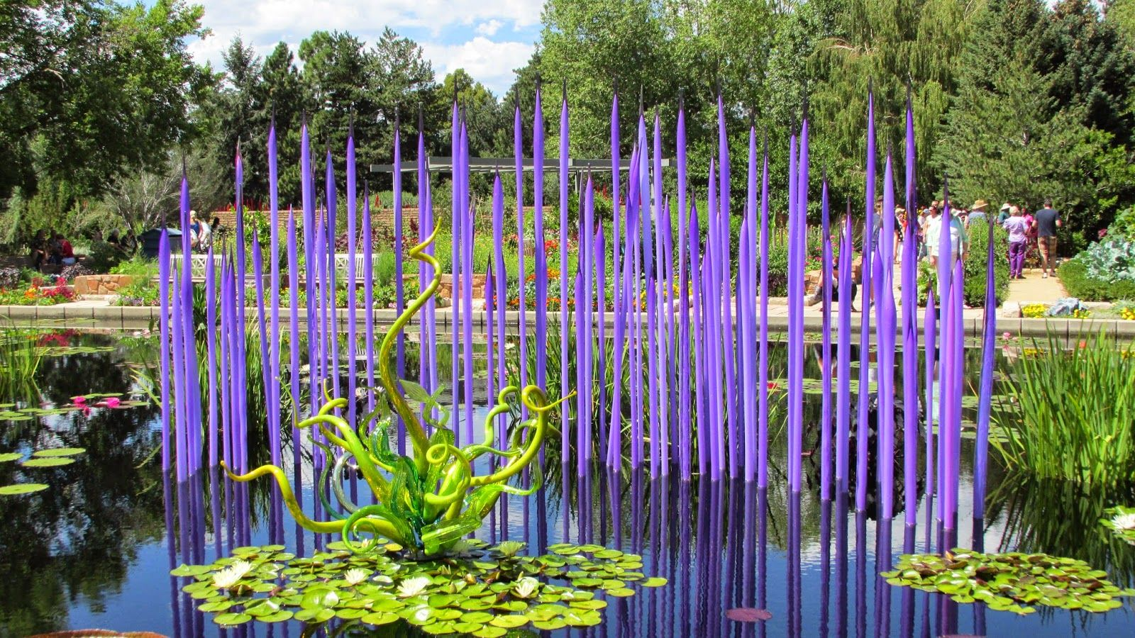 The Chihuly art at the Botanic Gardens Denver Botanic Gardens - Google Search