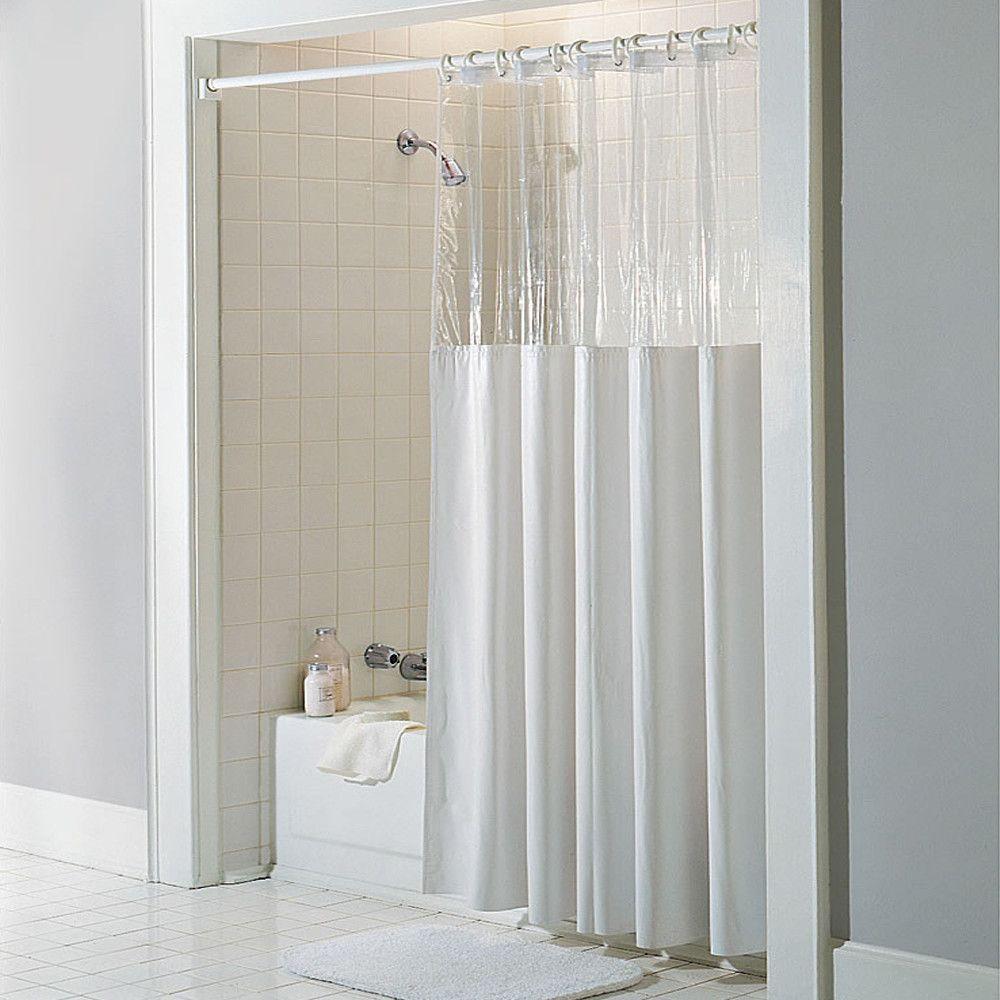 Vinyl See Through Bath Shower Curtain Vinyl Shower Curtains