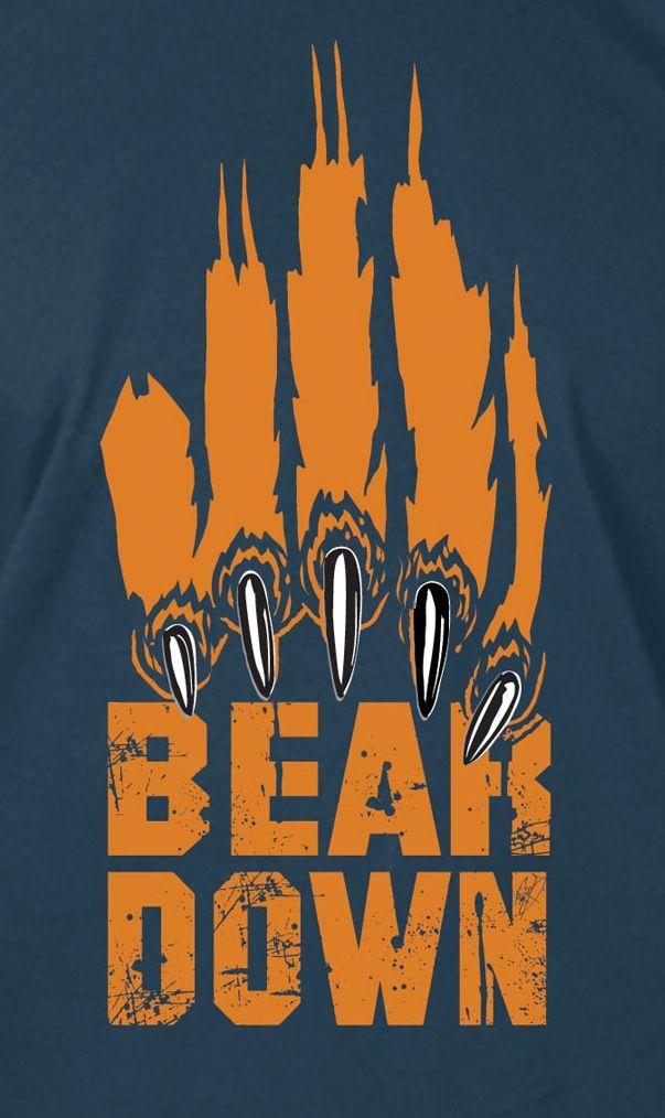 Bear Down Chicago Bears Football Nfl Chicago Bears Mercer Bears