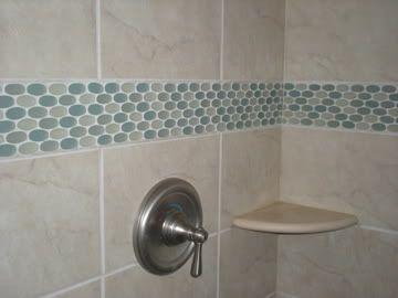 I do like this accent tile...   Home Stuff ~ Bathroom Ideas ...