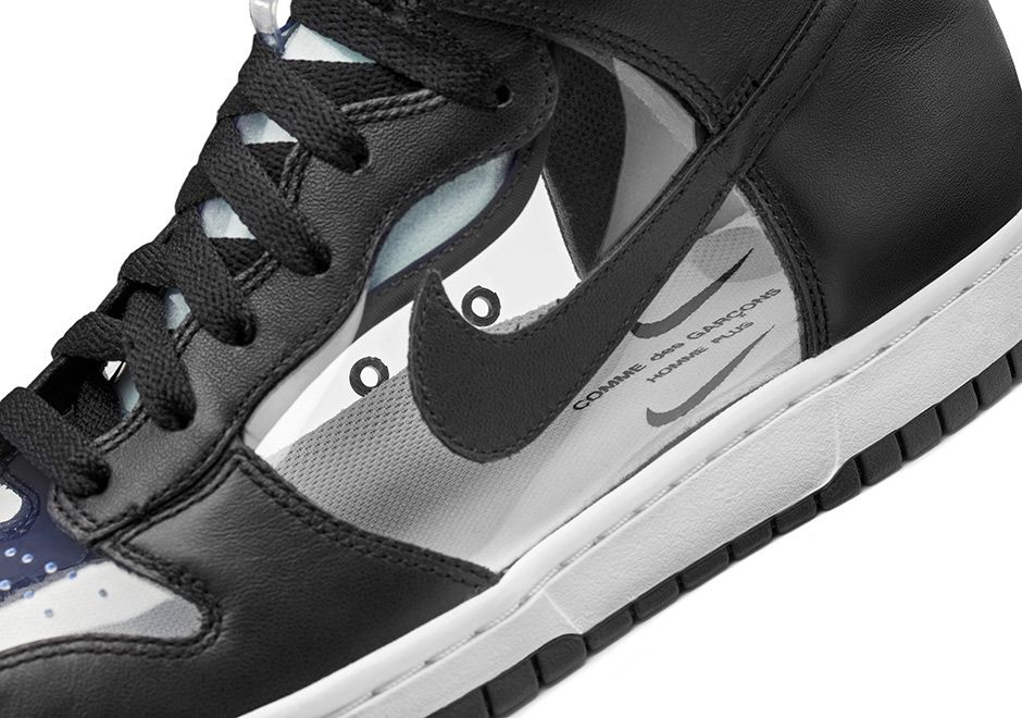 sneakers for cheap 0e244 4c6aa COMME des GARÇONS x NikeLab Dunk Hi Invisible Release Date   SneakerNews.com