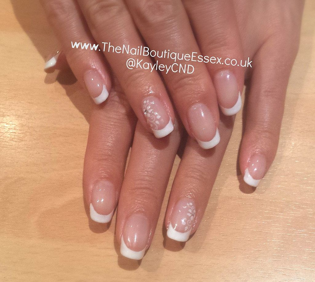CND Shellac French Manicure