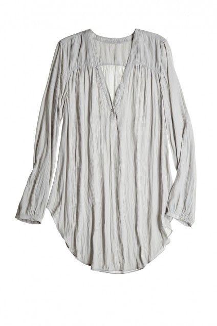 2d577893e4f60 Kioni Shirttail Blouse by Calypso St. Barth   My Style   Pinterest ...