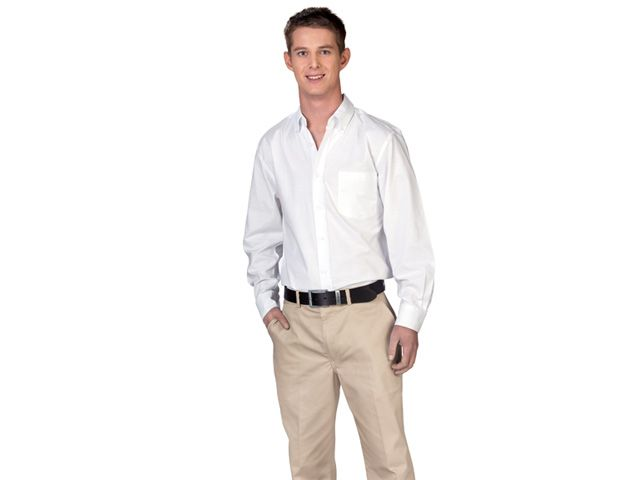Gents Oxford Long Sleeve at Mens Lounge Shirts | Ignition Marketing Corporate Clothing