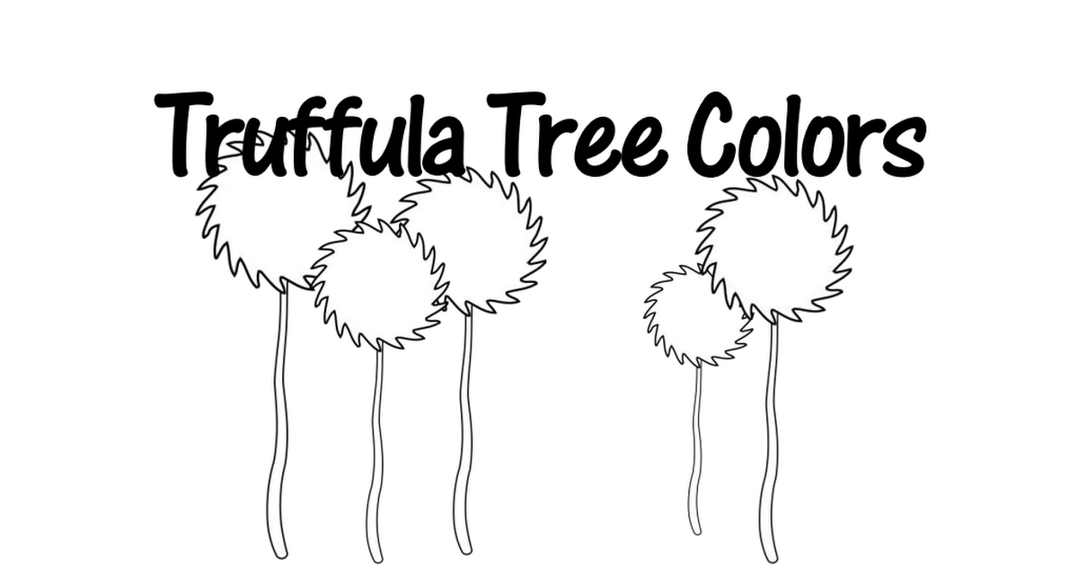 Lorax ColorBook.pdf (With images) The lorax, March