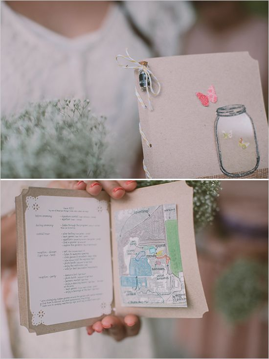 wedding programs  Photo by: The Gemmers  Wedding Planner: Simply by Tamara Nicole