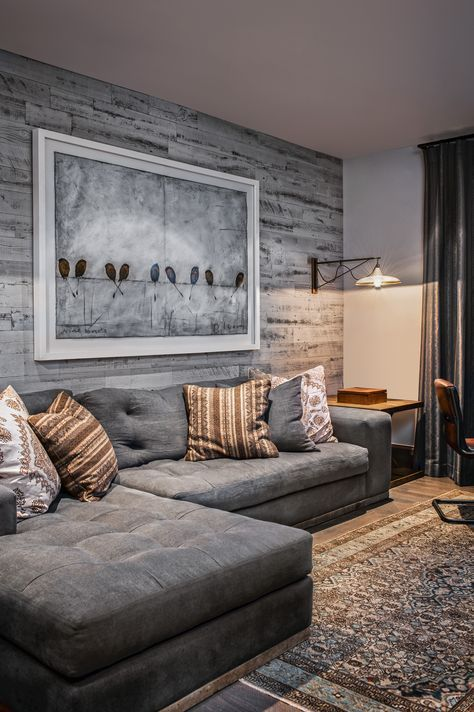 Reclaimed Weathered Wood Gray In 2019 Wood Wall Design