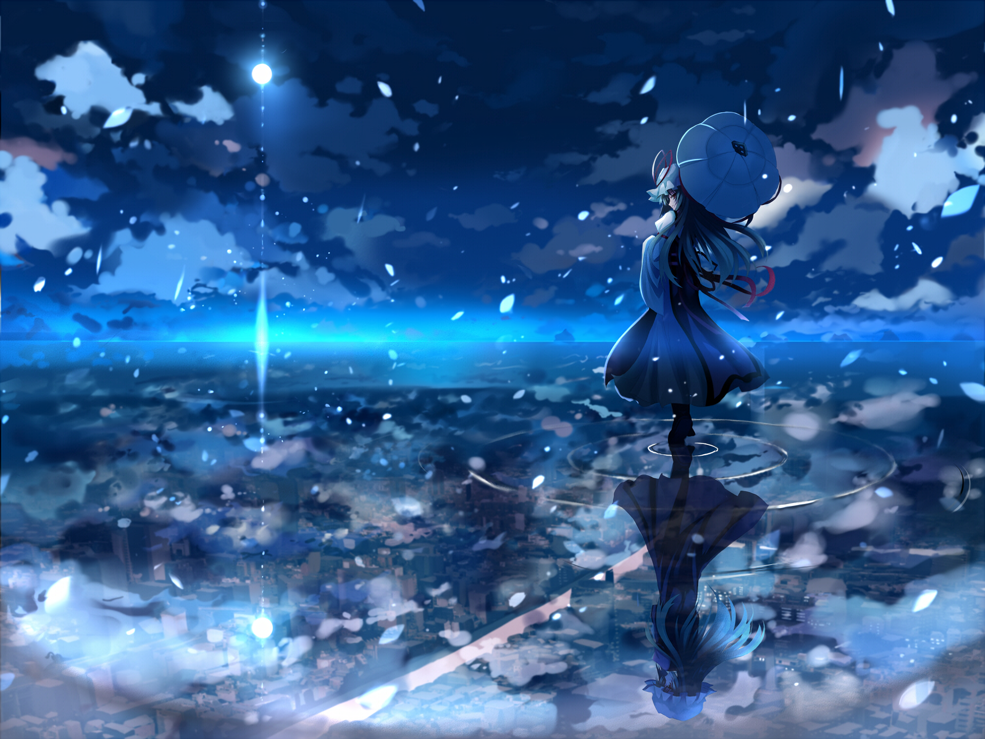 Anime Touhou Yukari Yakumo Wallpaper Anime Scenery Anime Scenery Wallpaper Anime Background