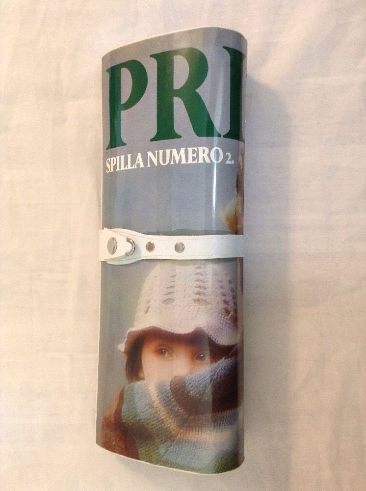 Primo Magazine Clutch Purse 1970s vintage Italian Americans