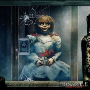 """The horror movie universe to reckon with."" #AnnabelleComesHome is now playing in theaters."
