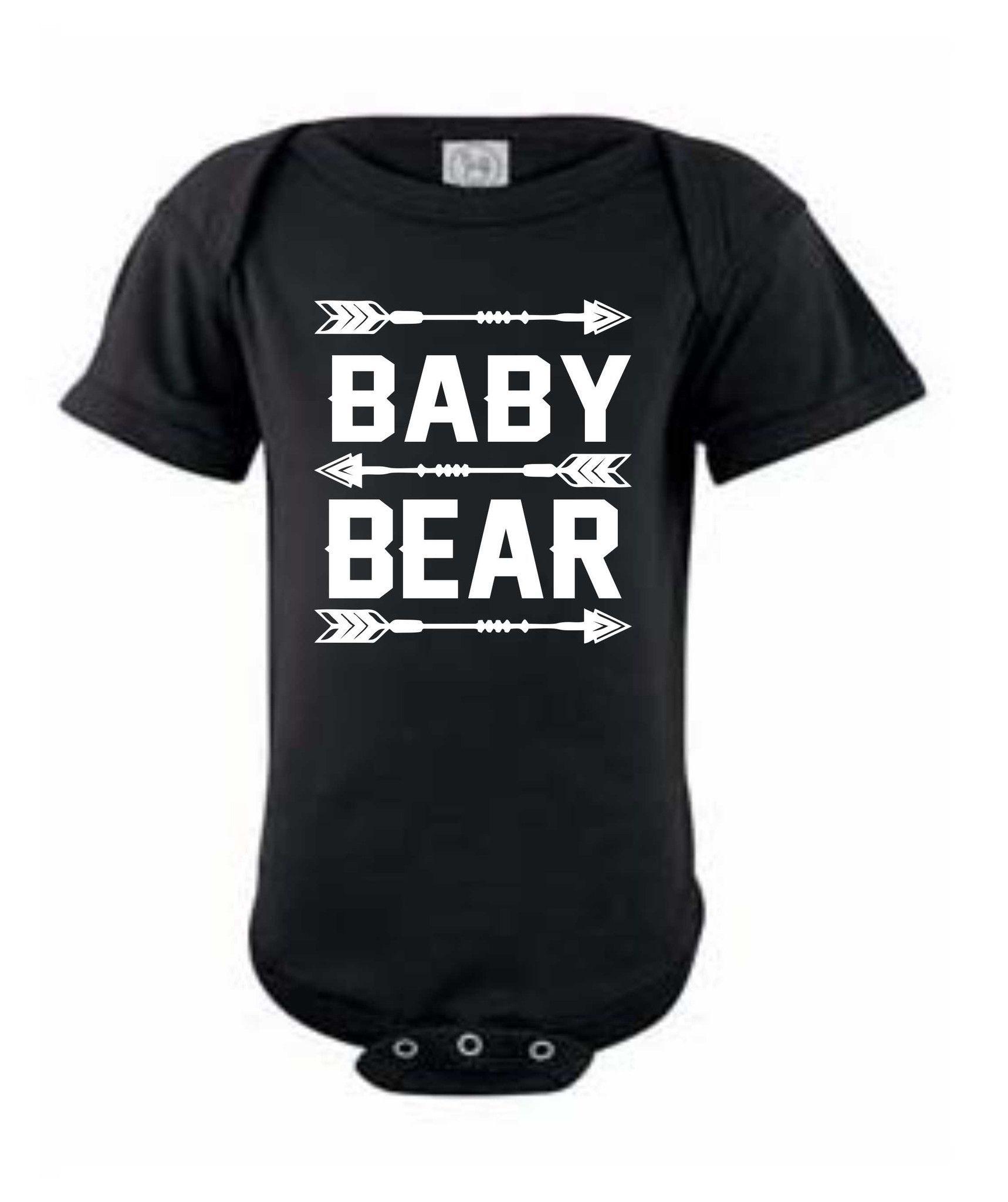 Baby Bear infant Onesie