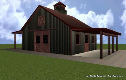 Horse Barn Builder In Ga Pole Barn Builders