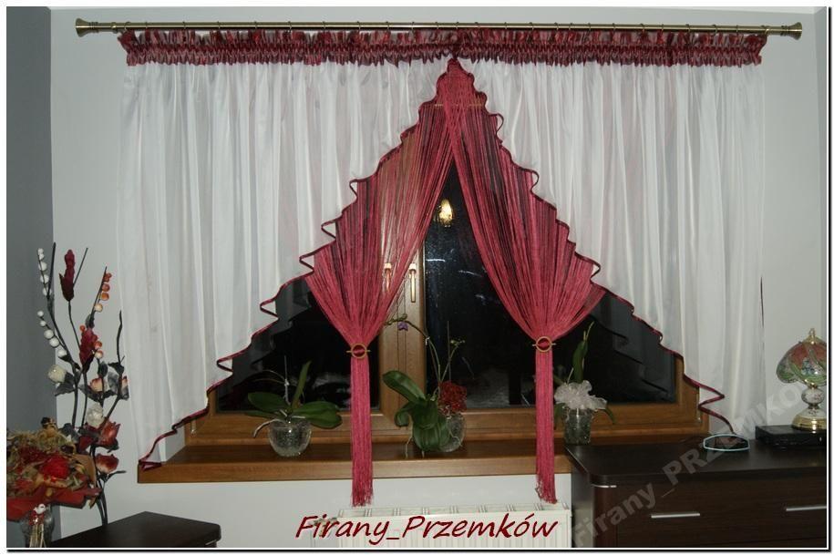 Firanki Firany Woal Makaronykółka Na Kar3 35m Firany