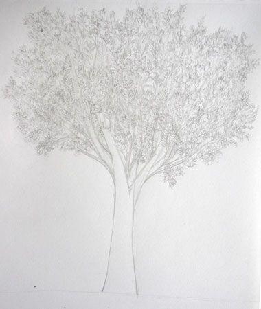 Connu apprendre à dessiner un arbre avec des feuilles | arbre  LL47
