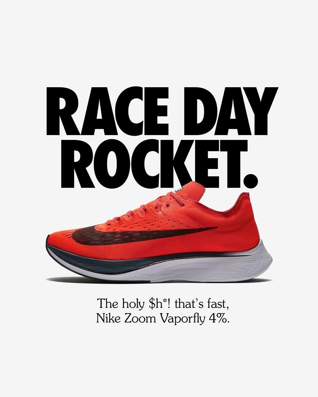 huge discount 07c00 ab863 Nike Zoom Vaporfly 4%