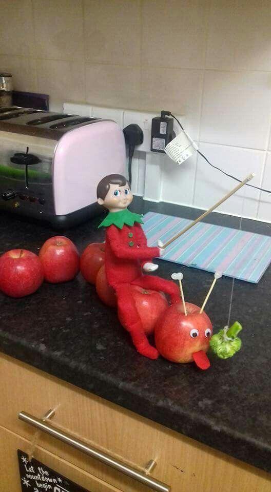 70+ Creative Elf On The Shelf Ideas - Brighter Craft #lutincoquin