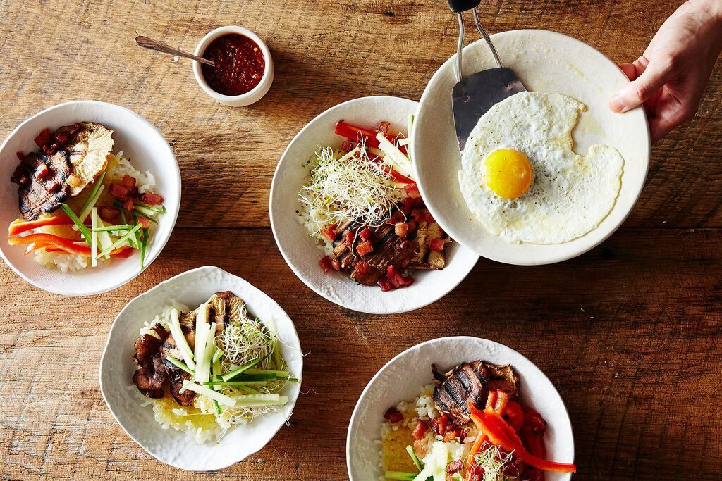 How to make bibimbap without a recipe bowls rice and recipes how to make bibimbap without a recipe forumfinder Image collections
