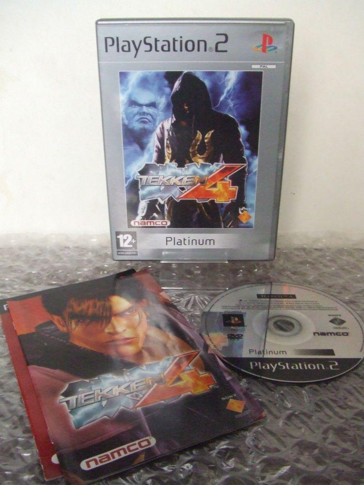 Tekken 4 Ps2 Ps3 Playstation Pal Ita Playstation Tekken 4 Ps3