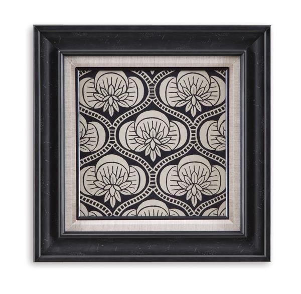 Resin Ornamental Tile Motif I Floral