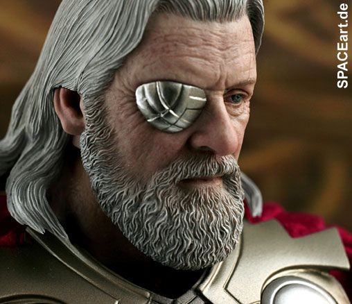 Thor: Odin (Anthony Hopkins), Deluxe-Figur (voll beweglich) ... https://spaceart.de/produkte/thr001.php