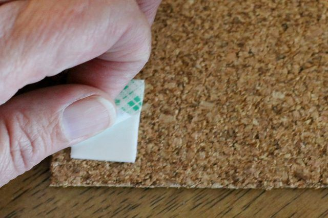 How To Hang Cork Board Without Damage To The Wall Diy
