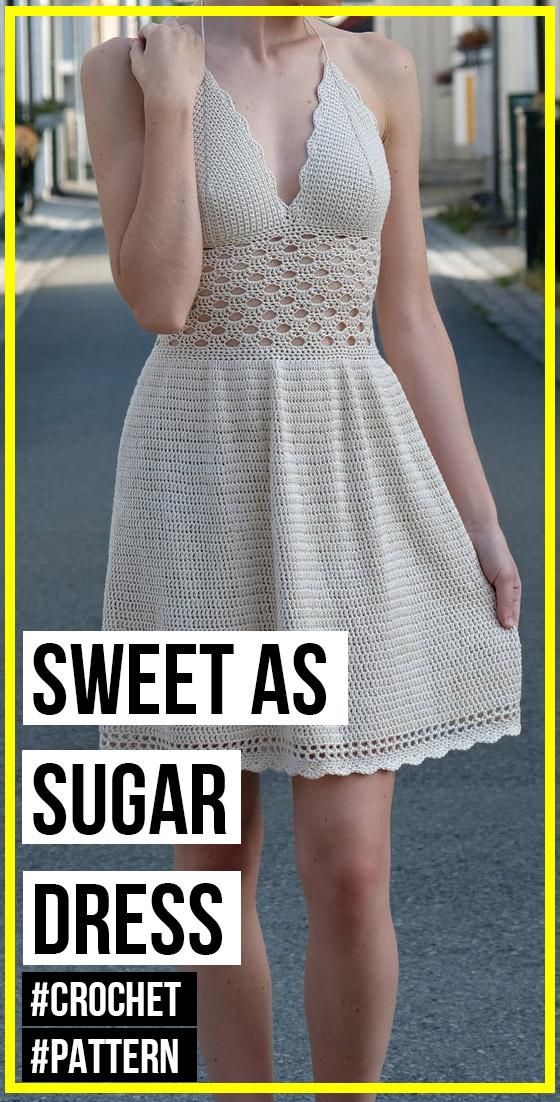 crochet Sweet as Sugar Dress pattern