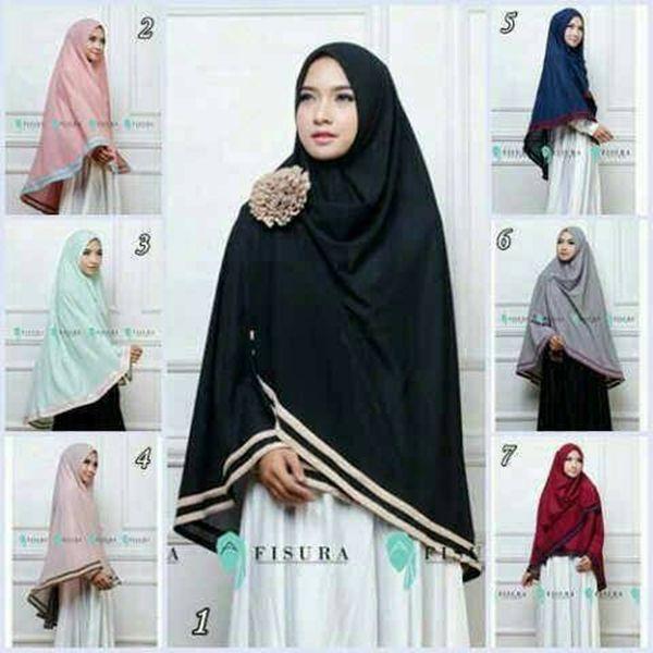 Pin Di Fashion Hijab Lebaran 2020