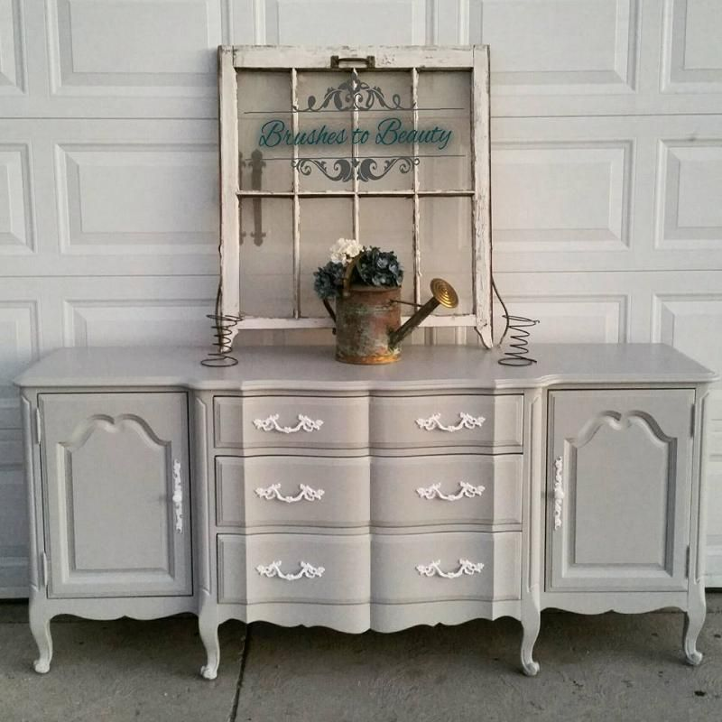 Best Antique Dresser In Seagull Gray Gray Painted Furniture 400 x 300