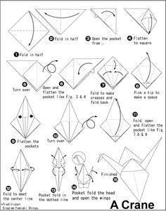 How To Make Origami Crane