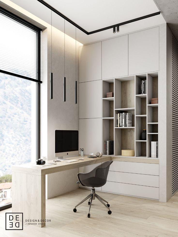 Muebles Para Oficina Modernas In 2020 Modernes Homeoffice Arbeitszimmer Mobel Buroraumgestaltung