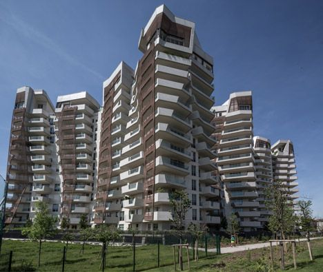 Hadid and Libeskind build a community of 650 homes in Milan