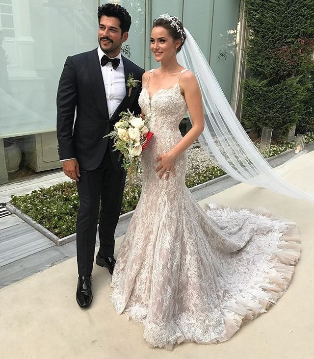 Most Beautiful Bride Of The World Fahriye Evcen Wedding Dresses