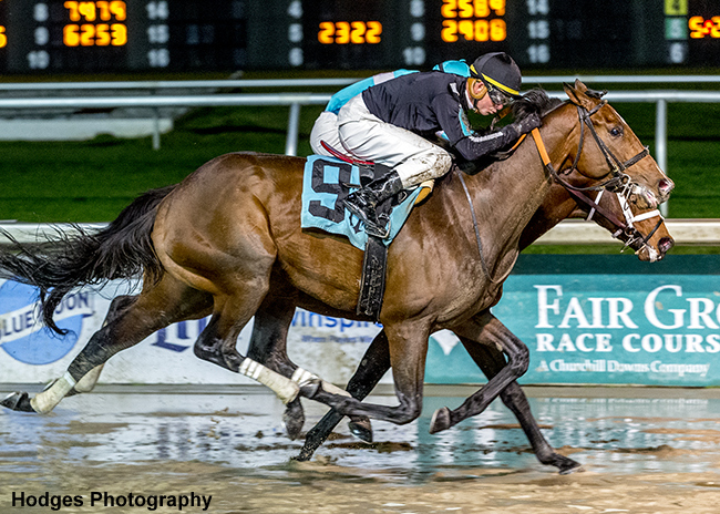 Lynn S Map Edges Mr Monomoy In Key 2 Year Old Allowance Route At Fair Grounds Racing News