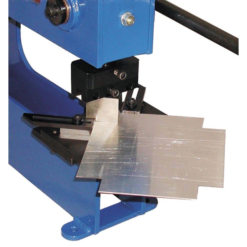 Corner Punch Assembly Bench Press Tooling By Mittler Bros Sheet Metal Tools Metal Working Tools Metal Tools