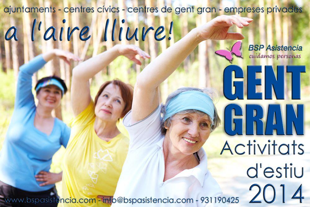 Tenim #EquipHumà per a activitats d' #Ajuntaments amb #GentGran aquest #Estiu informa't 931190425 www.bspasistencia.com