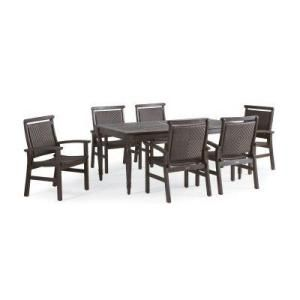 Thomasville Natures Retreat 7 Piece Dining Patio Set Home Depot