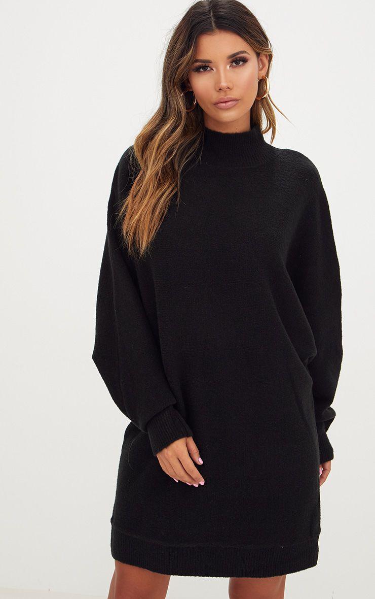 popular design buying new exclusive range Black Oversized Jumper Dress   dresses in 2019   Black ...