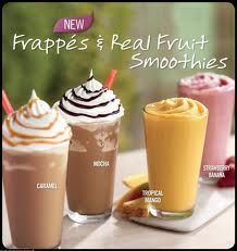 1 Frappes And Smoothies Memorial Day Weekend At Burger King P