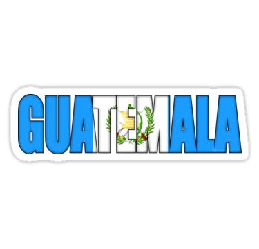 Guatemala Flag Sticker By Mikeprittie Guatemala Flag Guatemala World Thinking Day