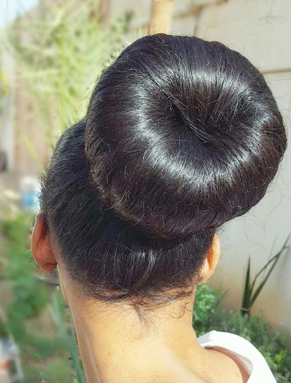 Hair Bun Donut Big Hair Bun Hair Hairstyle Bun Style Donut Bigbun Hairbun Hairdonut Longhair Styli Big Bun Hair Bun Hairstyles Donut Bun Hairstyles