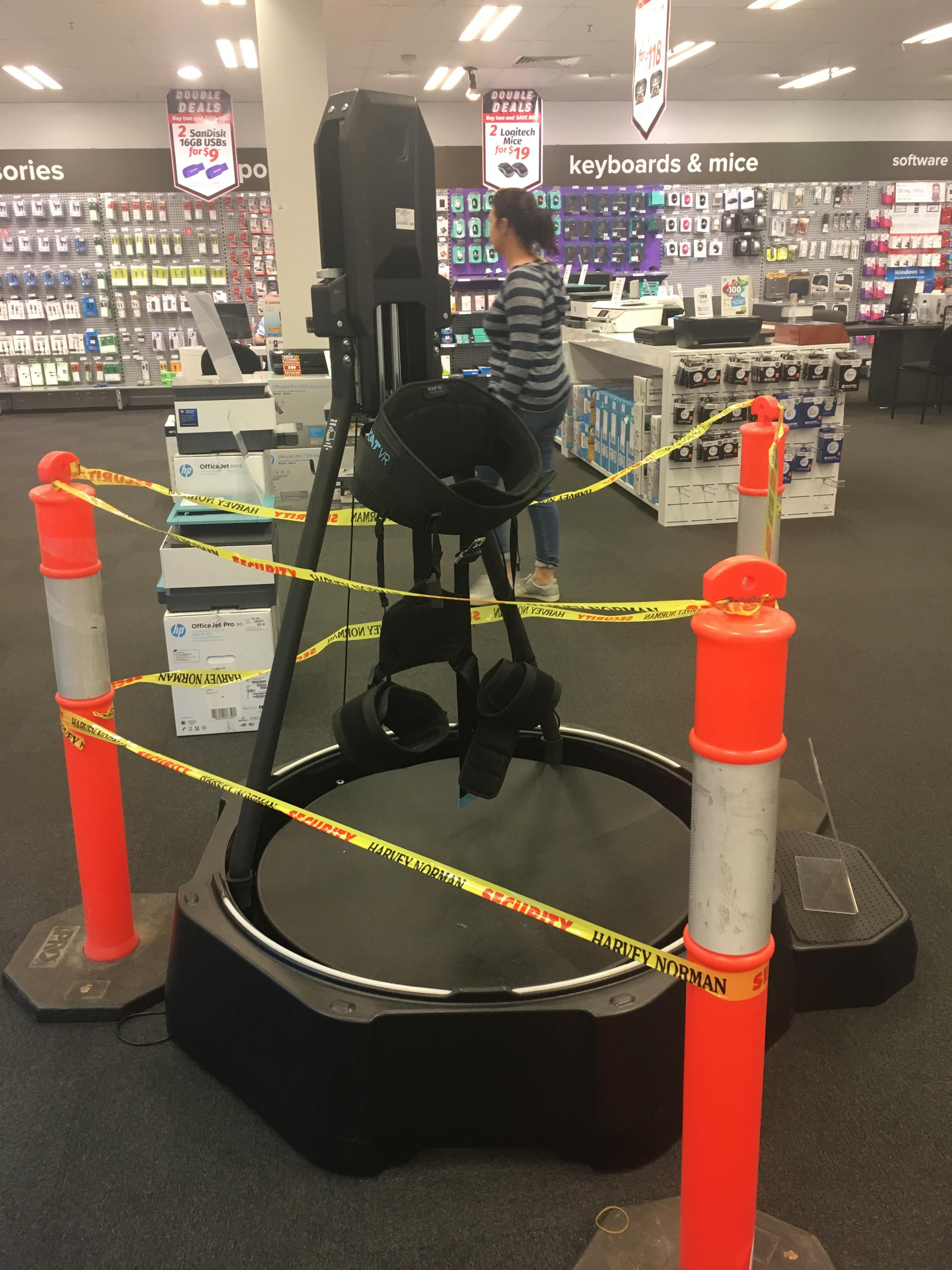I saw a KAT VR at Hervey Norman in towwoomba today! Low