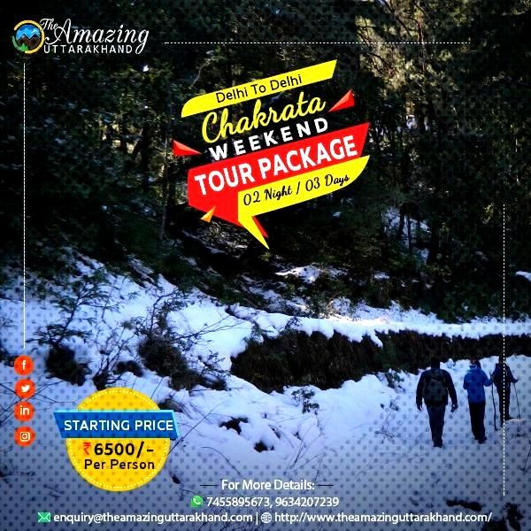 Weekend Tour To Chakrata Create everlasting memories with our weekend tour package in various parts