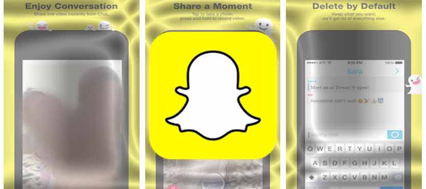 Snapchat IPA 9.14.2.0 Free iPad Photo Sharing App Photo