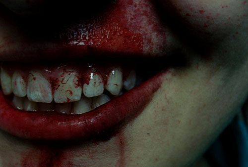 Bloody mouth   We Heart It   blood and lips