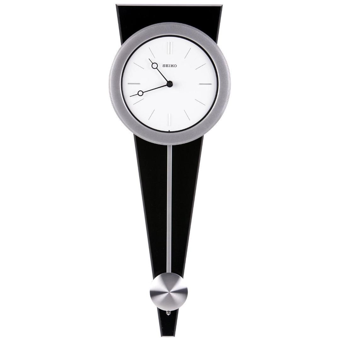 Contemporary Wall Clock With Functional Pendulum Design Contemporary Wall Clock Pendulum Wall Clock Wall Clock Modern