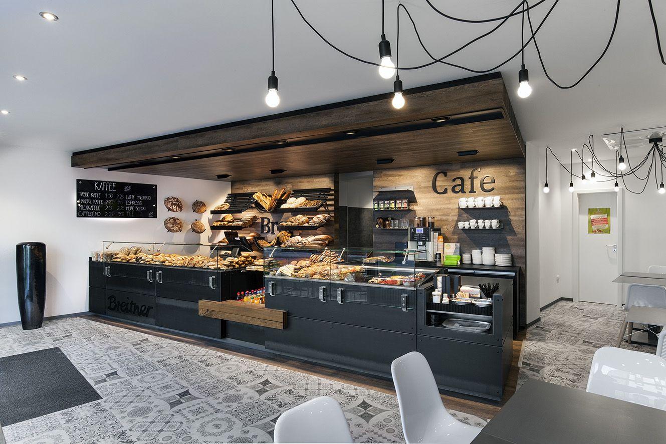 Bäcker Kaffee Breitner Pfaffenhofen Stahltheke, Raum und ...