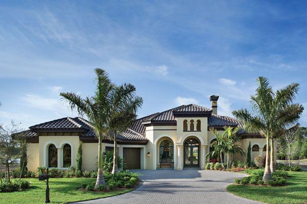 Florida Luxury Custom Home Design Mediterranean Style House Plans Mediterranean Homes Luxury House Plans
