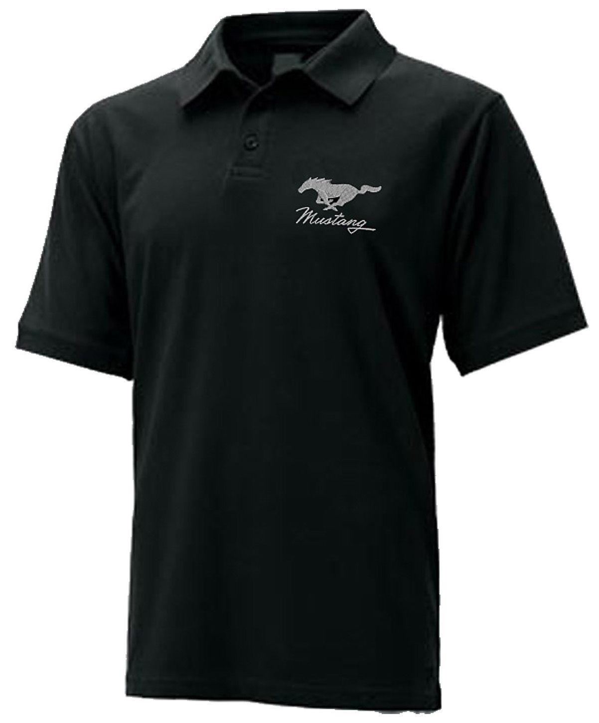 60% Freigabe Temperament Schuhe echte Qualität Ford Mustang Mens Polo Shirt | Ford Mustang Tee Shirts ...