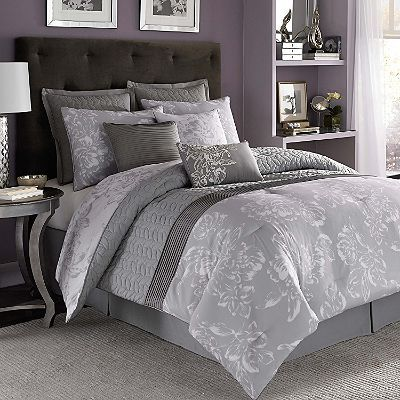 Nicole Miller Comforter Set King 9 Pc Sam Sclub