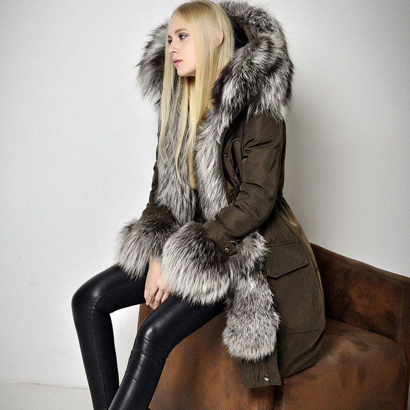 Find More Down & Parkas Information about 2015 New Black Winter ...